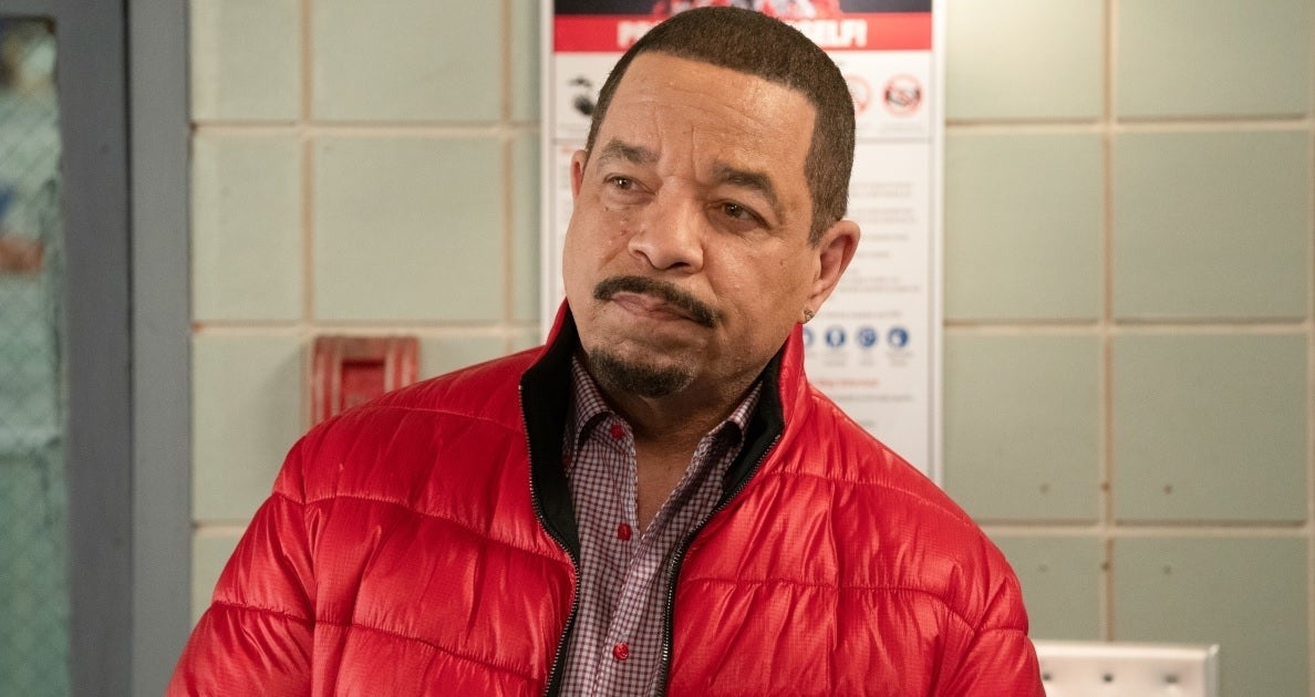 ice-t svu red jacket getty images nbc