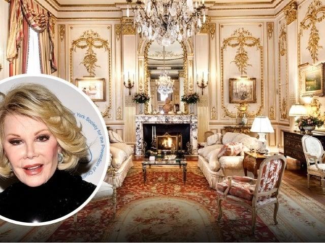 Tour Joan Rivers' Longtime Palatial $38M New York Penthouse