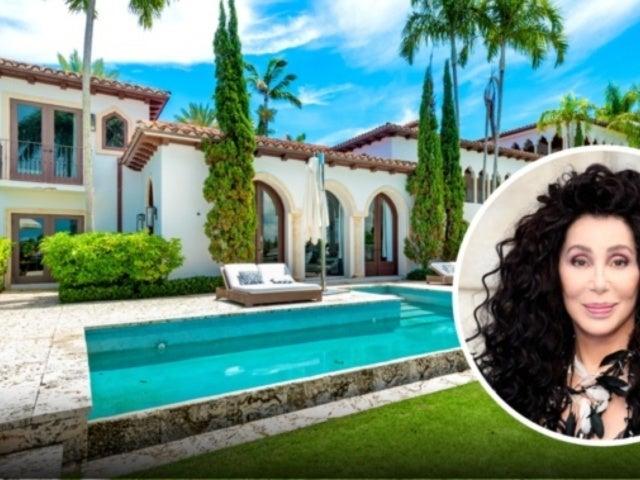 Tour Cher's Lavish $22M Miami Mansion on La Gorce Island