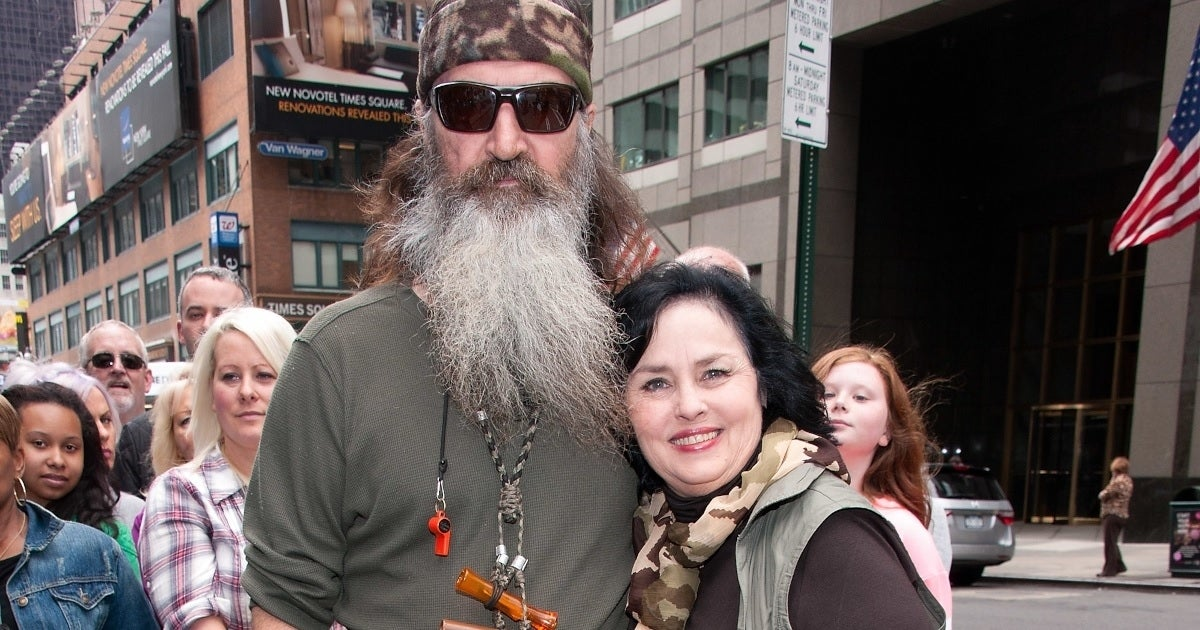 kay robertson phil robertson getty images