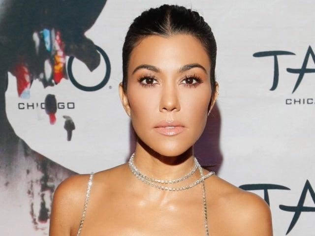 Kourtney Kardashian Flashes Fans While Sitting on Travis Barker's Lap in Steamy New Photos