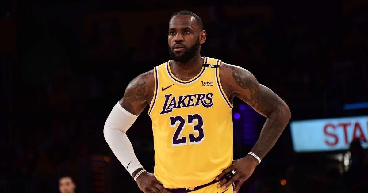 LeBron James change jersey number next season