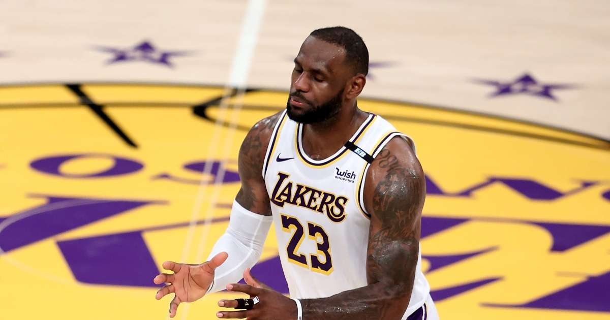 LeBron James jersey number switch fans confused