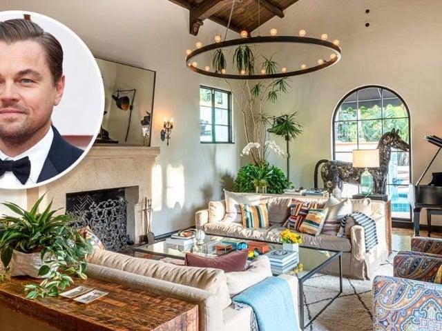Tour Leonardo DiCaprio's Lavish $7.1M Hillside Home Bought From 'Modern Family' Star