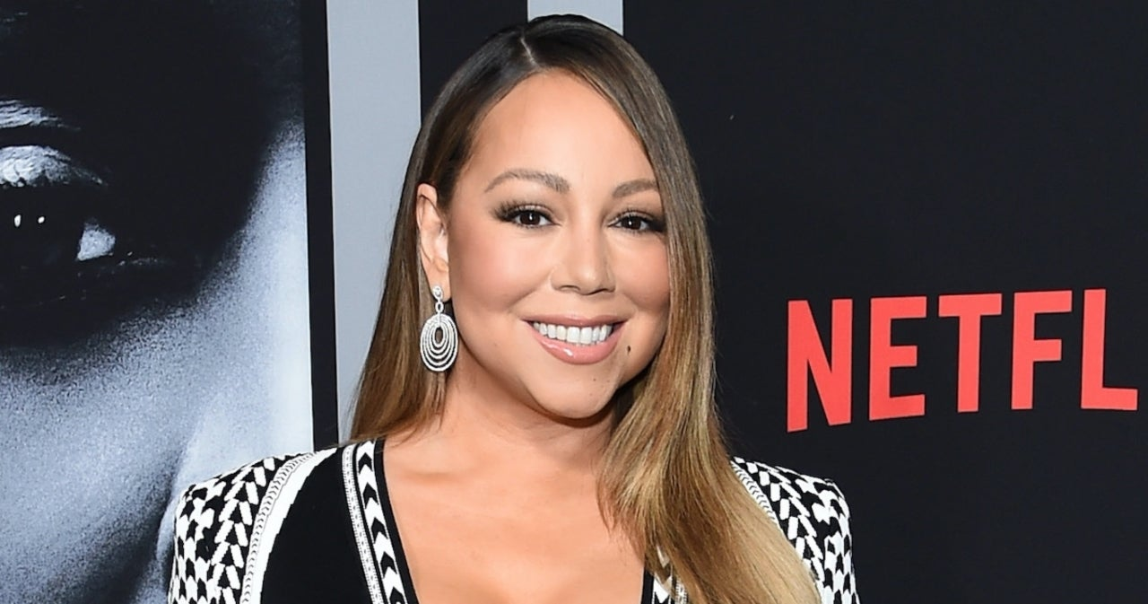 Mariah Carey Transforms Herself From Face Mask and Rollers into Eminem for TikTok Trend.jpg