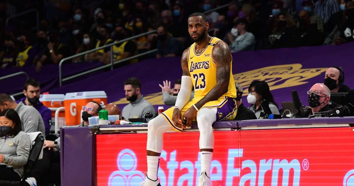 NBA fans blast LeBron James Lakers losing 1st round playoff series