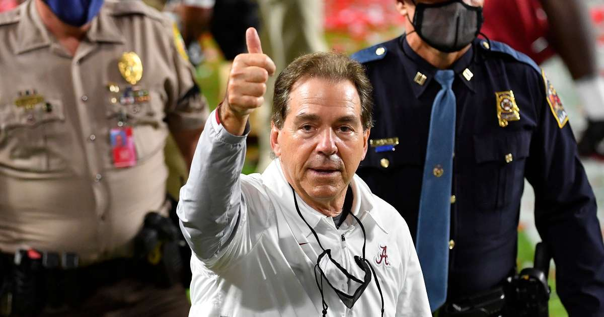 NIck Saban signs big contract extension Alabama