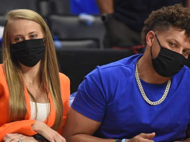 Patrick Mahomes' Fiancee Brittany Matthews Claps Back at 'Haters' Who Comment on Her Breasts