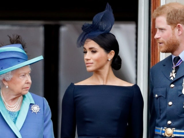 Queen Elizabeth Keeps Sweet Photo of Prince Harry and Meghan Markle on Display