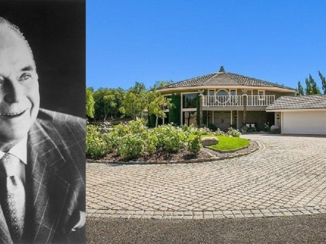 McDonald's Exec Ray Kroc's $29M Ranch Home Is a Sight to See