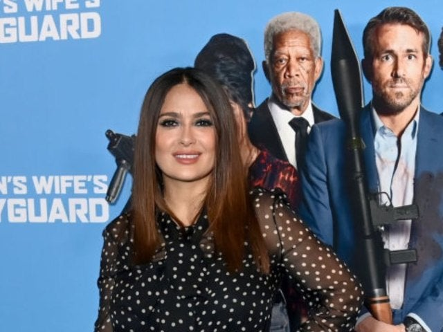 Salma Hayek Details Slapping Ryan Reynolds Ahead of 'The Hitman's Wife's Bodyguard' Premiere (Exclusive)