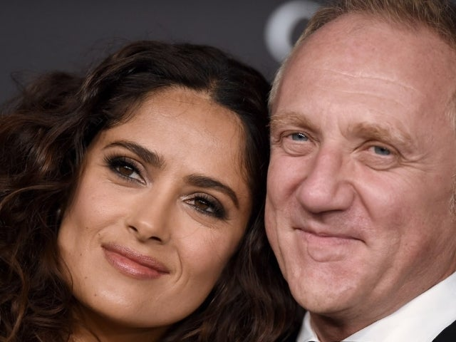 Salma Hayek's Rare Photo of Husband and Daughter Delights Fans