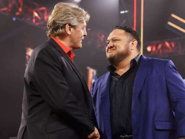 Samoa Joe Returns to WWE After Being Fired, and Fans Sound Off