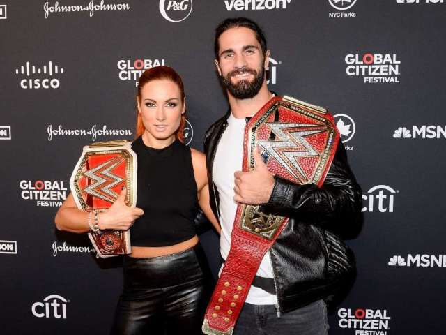 Seth Rollins Teases 'Finally' Getting Married to Becky Lynch
