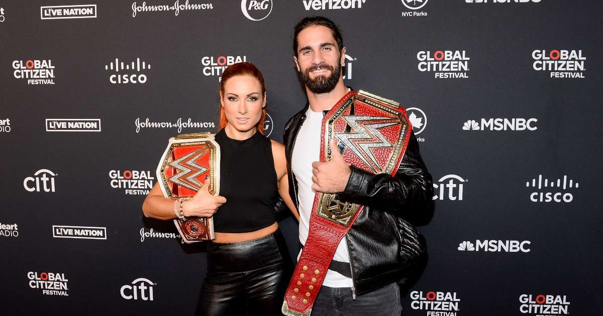Seth Rollins teases finally getting married to Becky Lynch