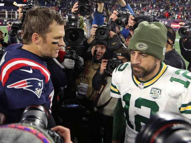 Tom Brady Blasts Aaron Rodgers for Play at NFC Championship Game