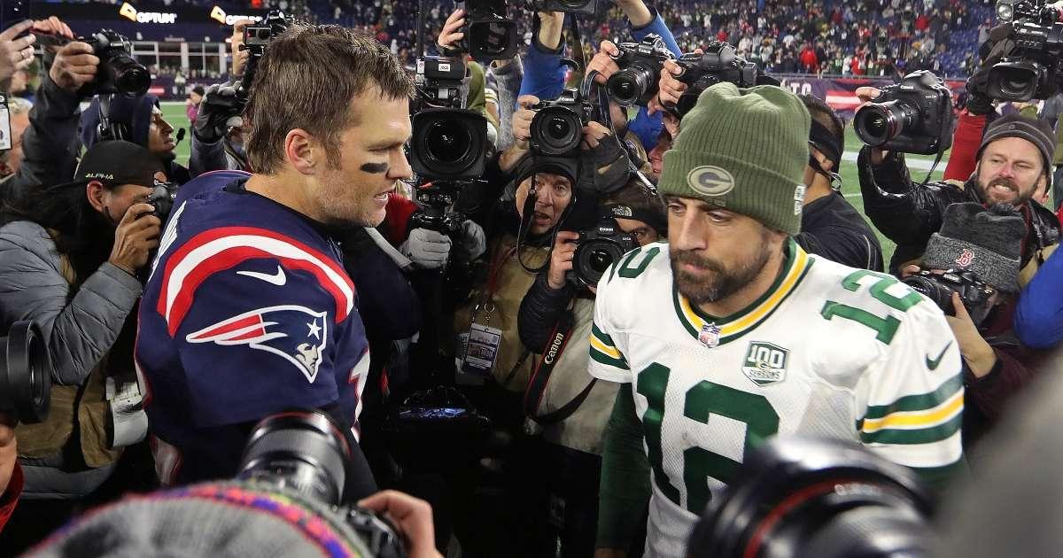 Tom Brady blasts Aaron Rodgers play NFC Championship game