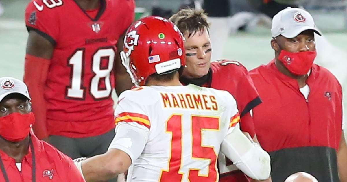 Tom Brady Patrick Mahomes share Madden NFL 22 cover fans thoughts