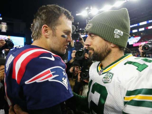 Tom Brady Reacts to Aaron Rodgers-Green Bay Packers Drama