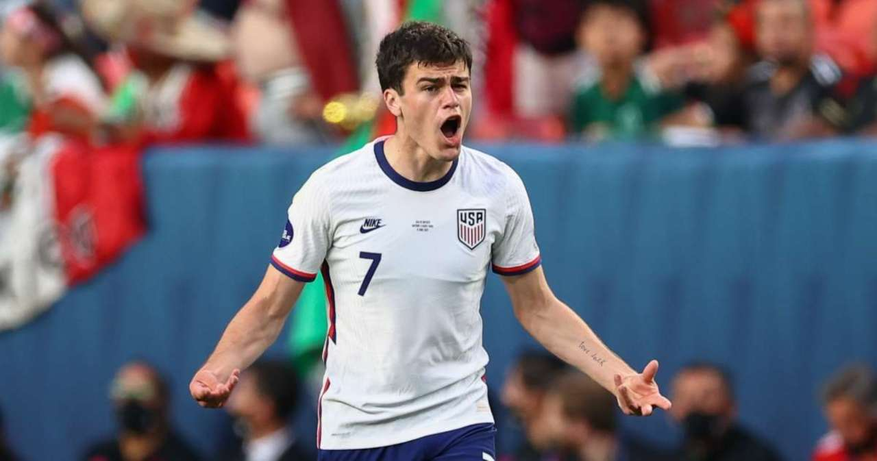 USMNT's Gio Reyna Struck With Coke Bottle After Defeating Mexico, Suspect Arrested.jpg