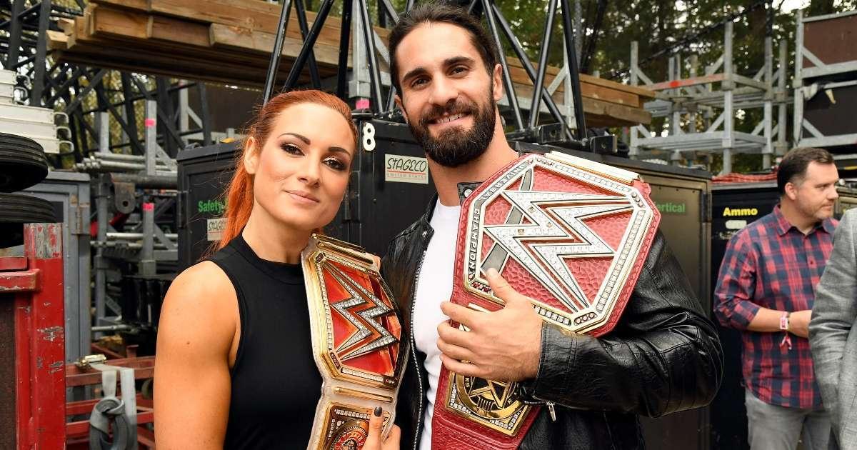 WWE confirms marriage Seth Rollins Becky Lynch