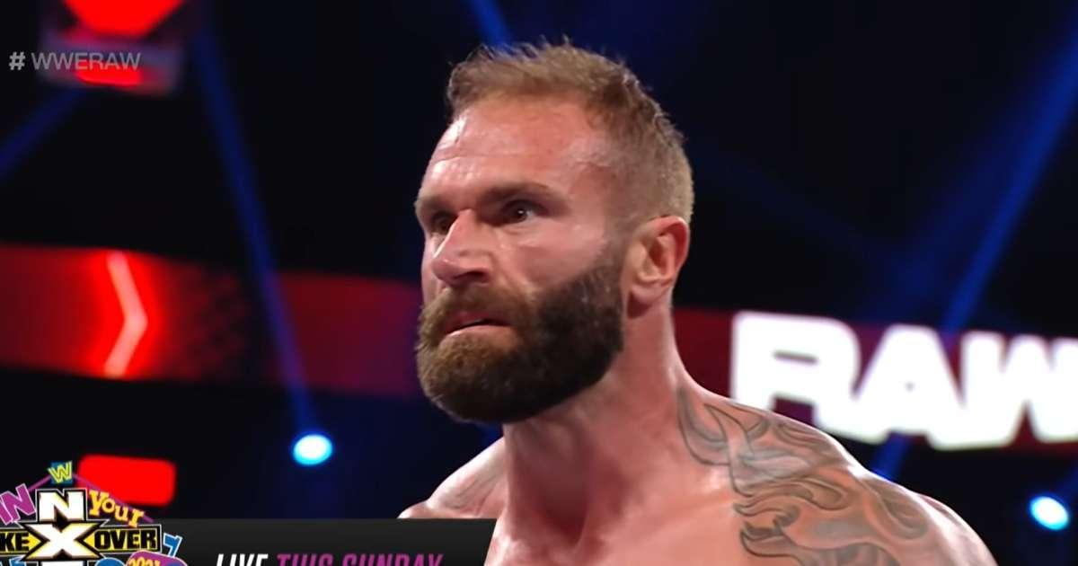 WWE Jaxson Ryker no impressing Raw viewers