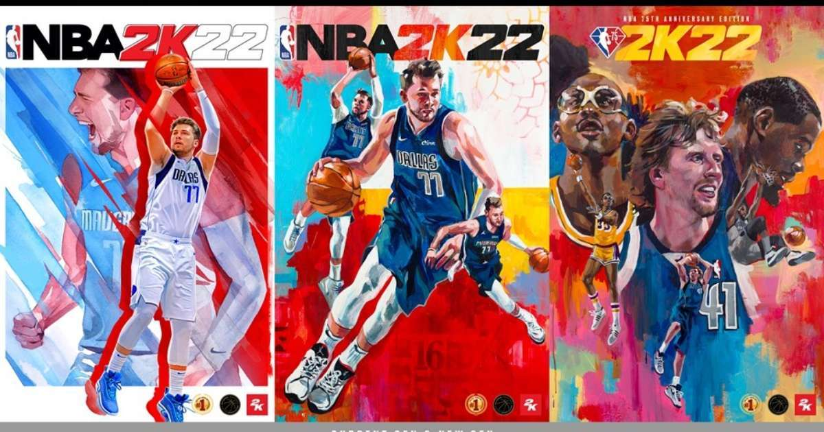 2K Games annoucne cover athletes, release date NBA 2K22