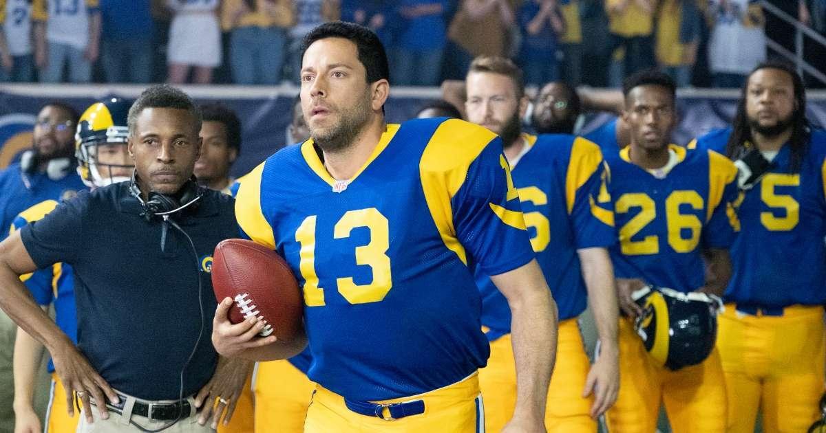 American Underdog See Zachary Levi Kurt warner Biopic