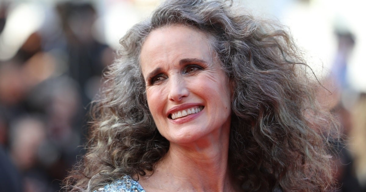 andie macdowell getty images