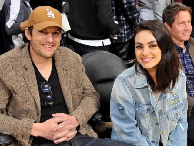 Mila Kunis and Ashton Kutcher Say They Only Bathe Their Kids When 'You Can See the Dirt on Them'