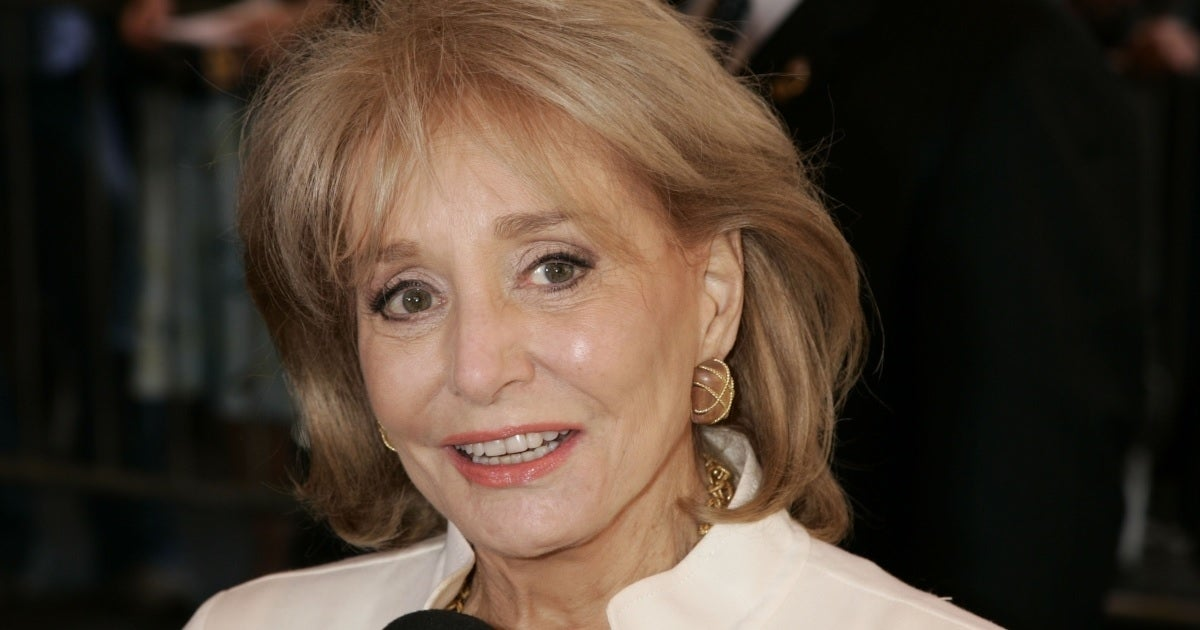 barbara walters getty images