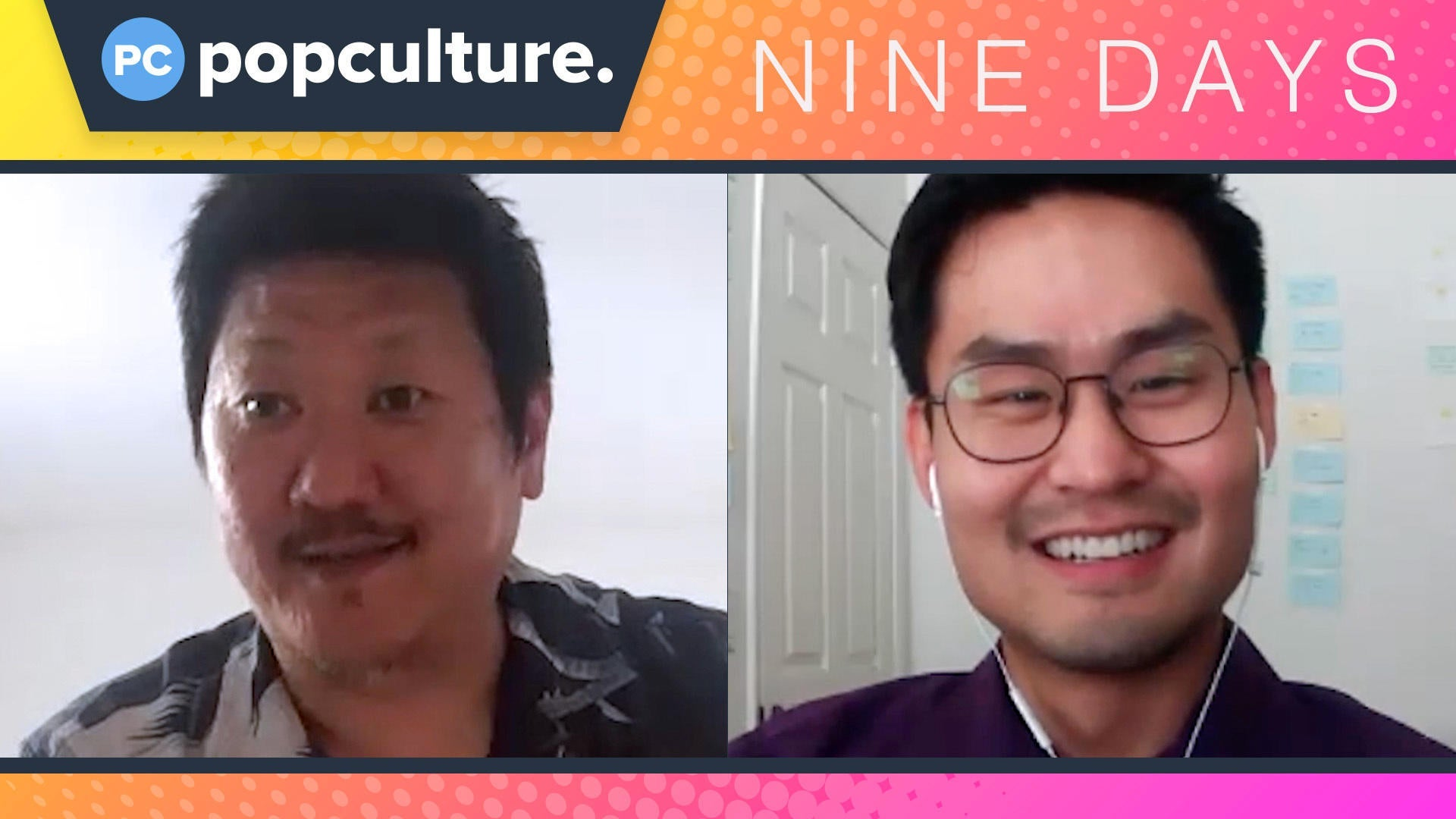 Benedict Wong and Edson Oda Talk Nine Days - Exclusive Popculture.com Interview