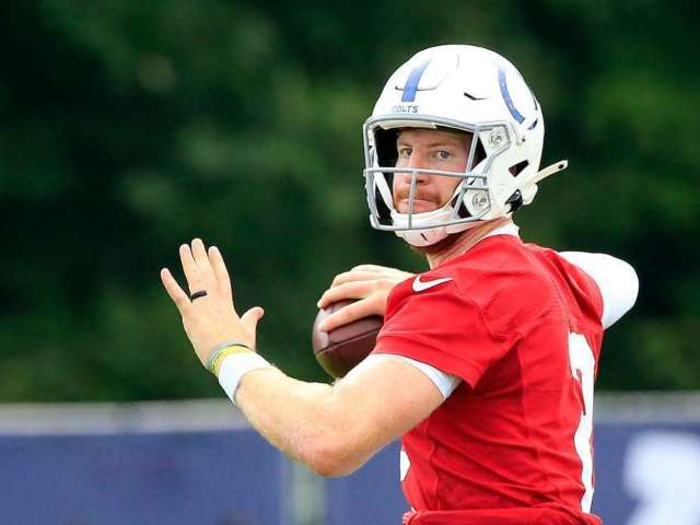 Colts Quarterback Carson Wentz Suffers Injury at Training Camp, out Indefinitely