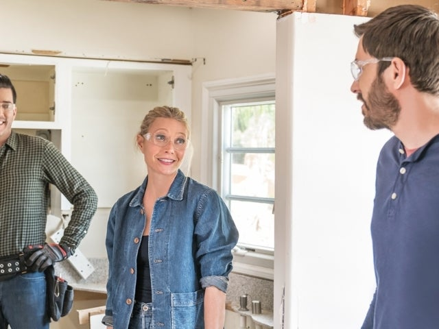 Gwyneth Paltrow Gets Her Hands Dirty for Striking Renovation With Property Brothers in 'Celebrity IOU' Sneak Peek