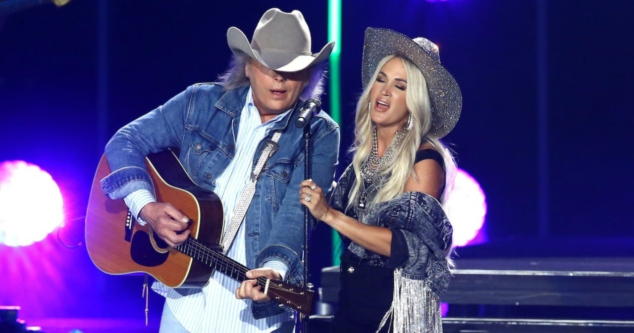 Carrie Underwood Duets With 'Legend' Dwight Yoakam During CMA Summer Jam.jpg