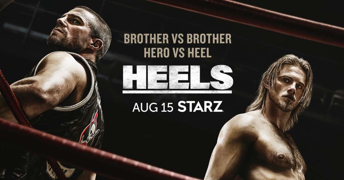 Heels extended trailer Stephen Amell released