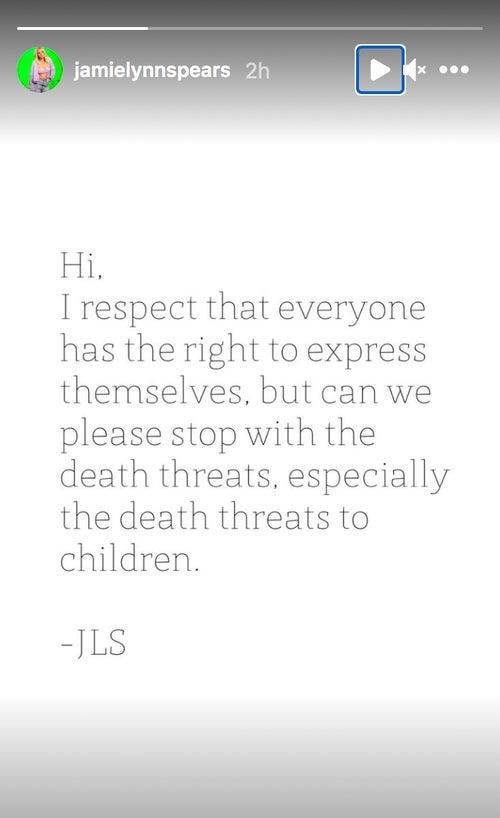 Jamie-lynn-spears-statement