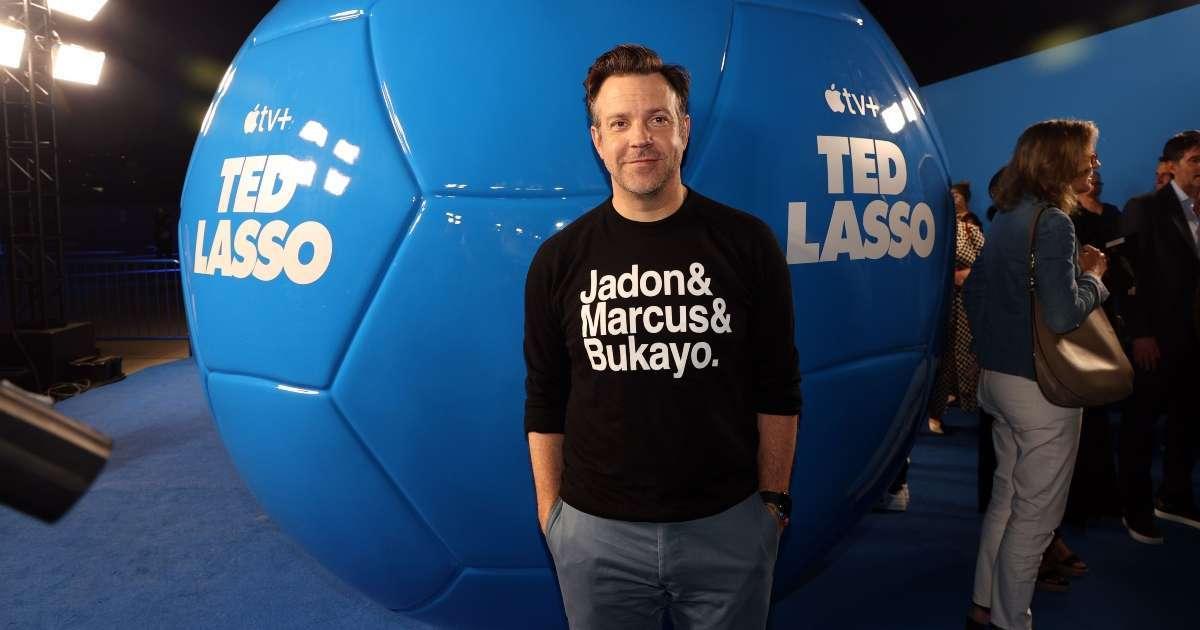 Jason Sudeikis gets surprise Inspiration Ted Lasso