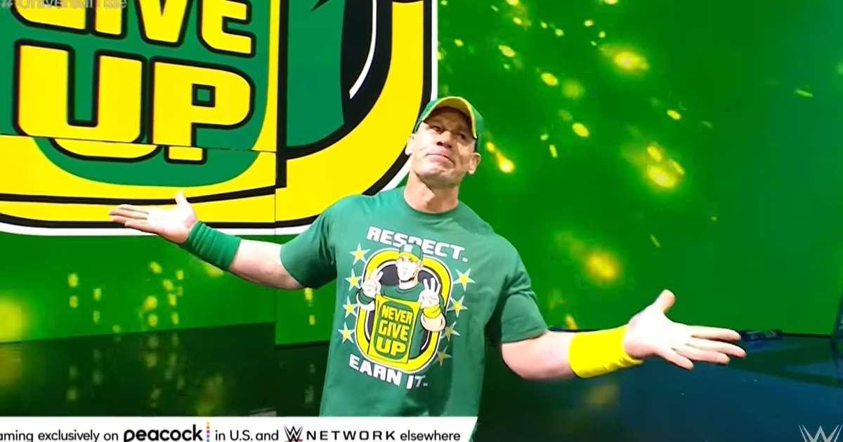 John Cena WWE return Money in the Bank fans Go wild