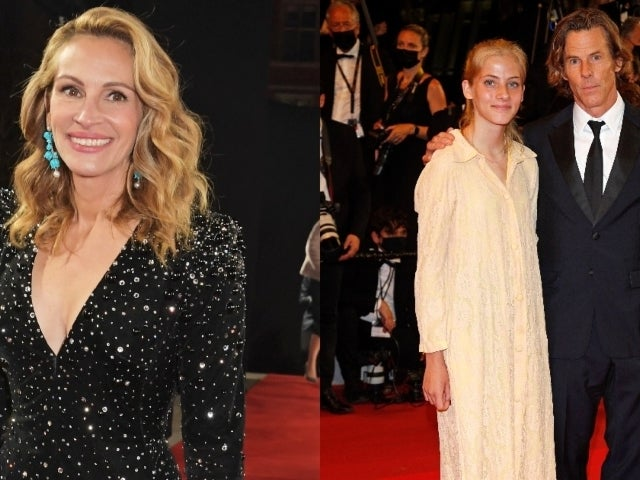 Julia Roberts' Daughter Hazel Makes Rare Appearance on Cannes Red Carpet