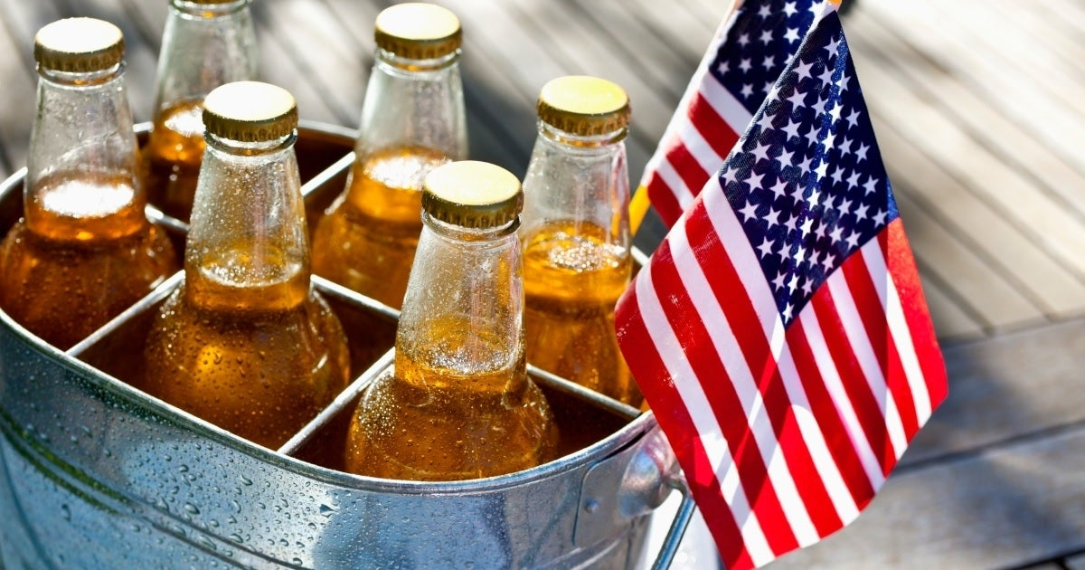 july 4 beer getty images