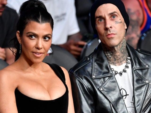 Did Kourtney Kardashian and Travis Barker Tease Pregnancy After Public Makeout Session at UFC Fight?