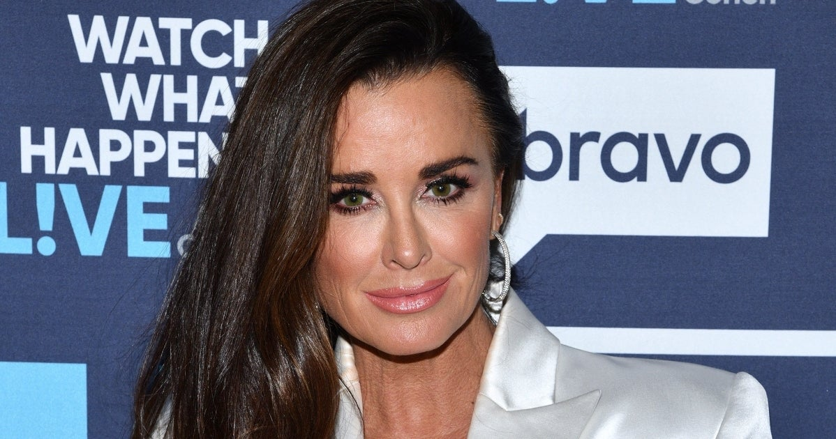 kyle richards getty images