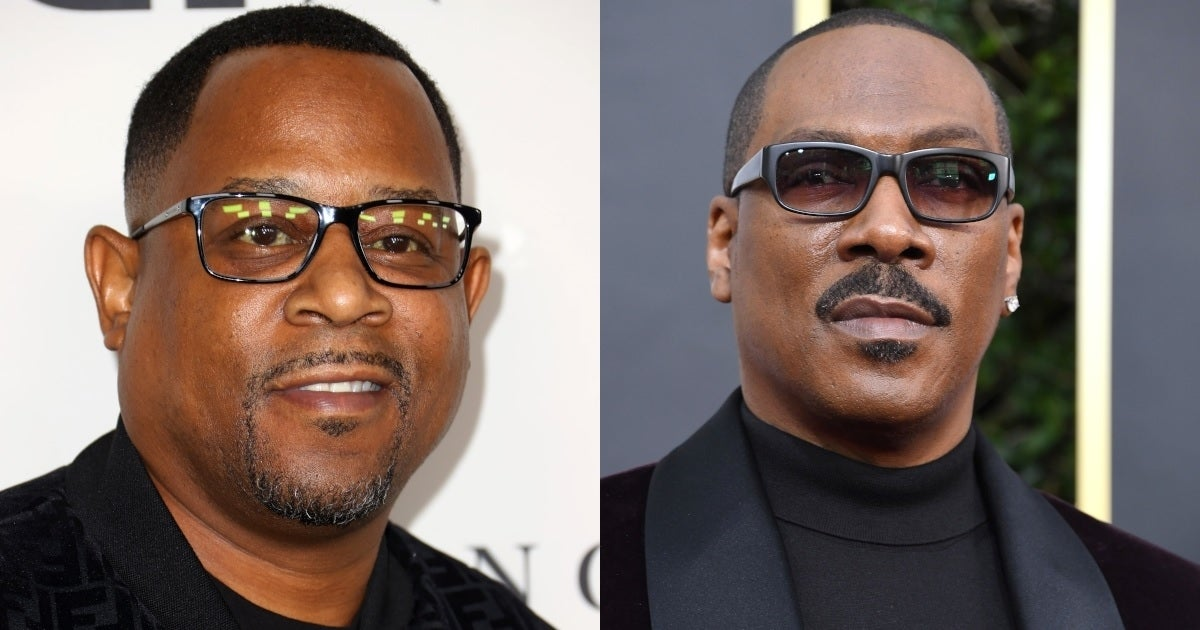 martin lawrence eddie murphy getty images
