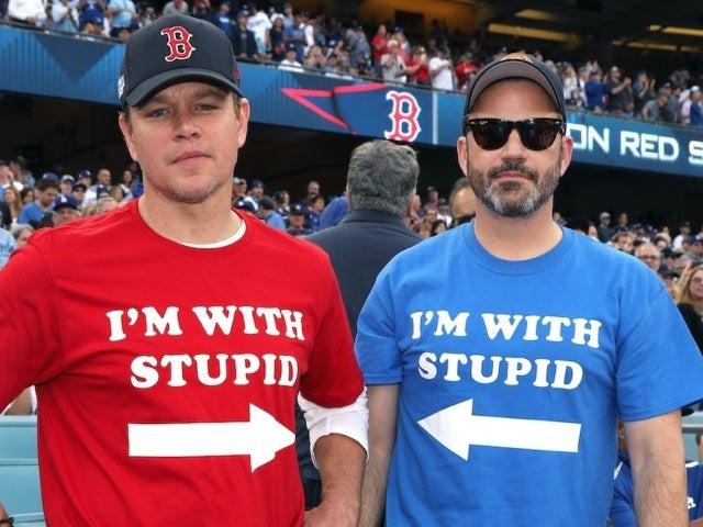 Matt Damon Addresses Longstanding 'Feud' With Jimmy Kimmel