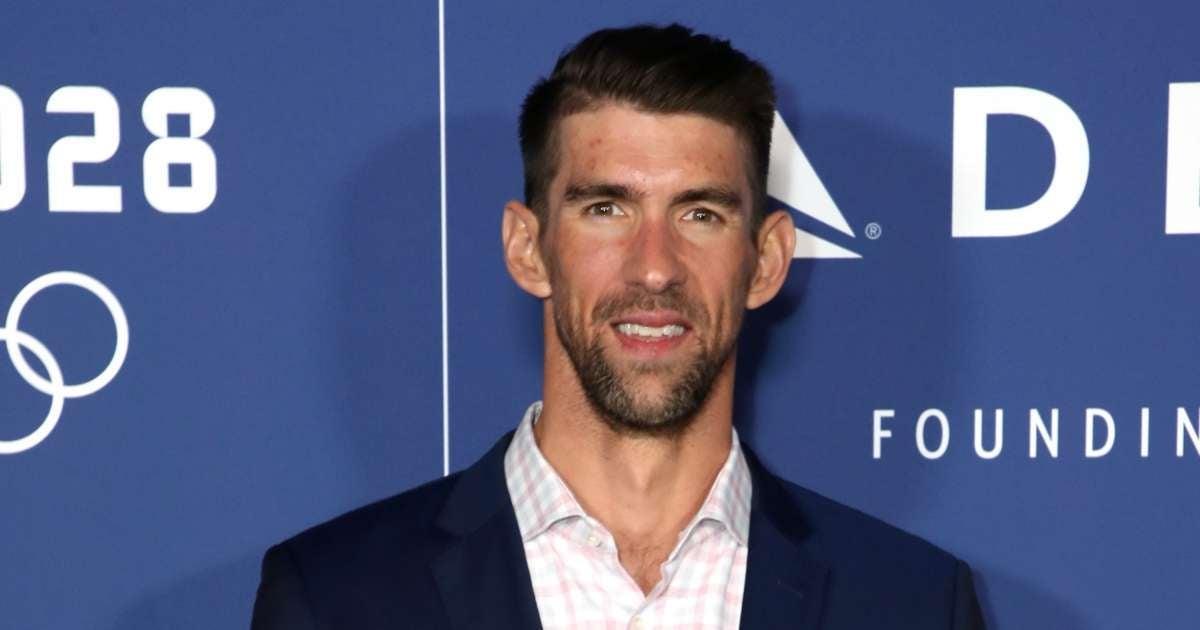 Michael Phelps Simone Biles voices support