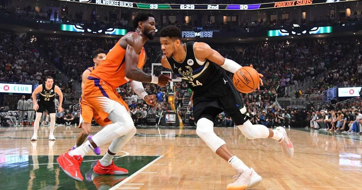 Milwaukee Bucks NBA Finals win Phoenix Suns