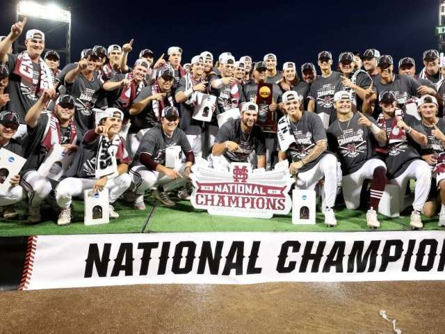 Mississippi State Baseball Wins College World Series, Exits Exclusive Club