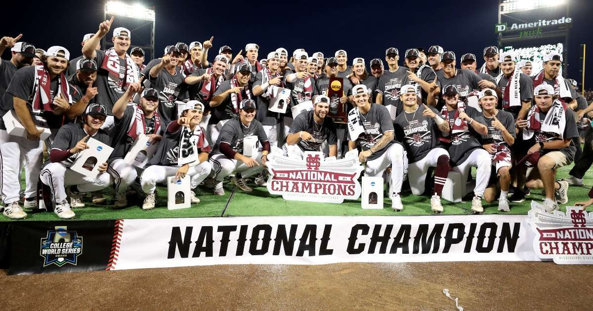 Mississippi State baseball wins college world series exits exclusive club