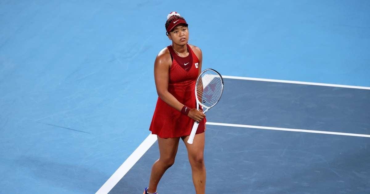 Naomi Osaka eliminated Olympics Tennis Tournament losing third round